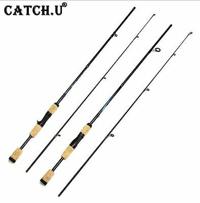 Fishing Spinning Casting Lure Rod Freshwater Fiber Carbon Portable Professional