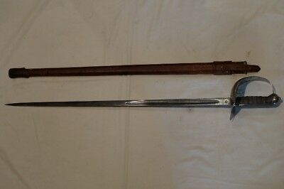 Canadian Pattern 1897 Sword by Hobsons Named To The 62nd St. John Fusiliers