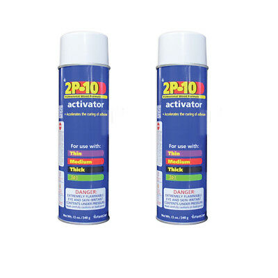 FastCap Two-Pack 12 oz. Aerosol Adhesive Activator (FC.2P10S.ACT.12 x2)