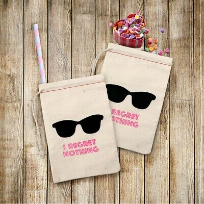 10 Bachelorette Party Bags Sunglass I Regret Nothing Hangover Kit Bags Hen Party