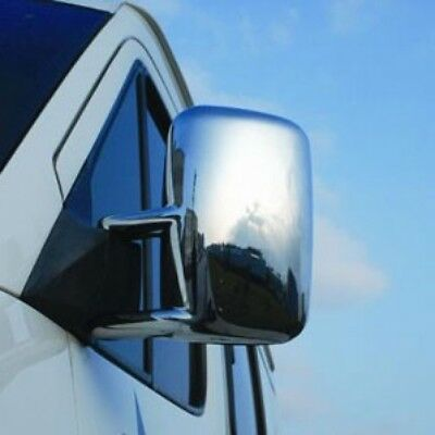 Chrome Wing Mirror Trim Set Covers To Fit LHD Mercedes-Benz Sprinter (2000-06)