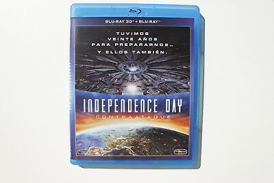 Independence Day Contraataque Blu-Ray - No Incluye 3D