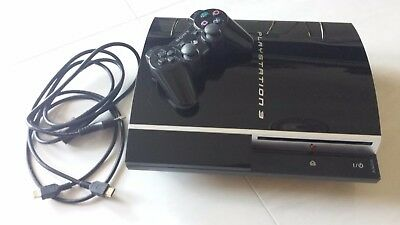 PLAYSTATION 3 Fat 500 gb Sony PS3 Console con difetto più Joypad LEGGERE BENE!