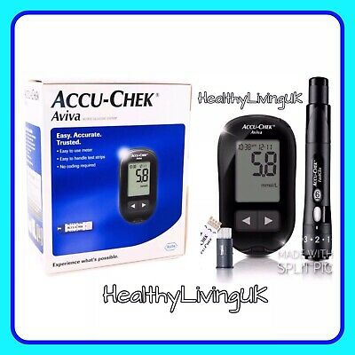 Accu Chek Aviva Blood Glucose Meter/Monitor/System - NEW & BOXED - RRP £59.99