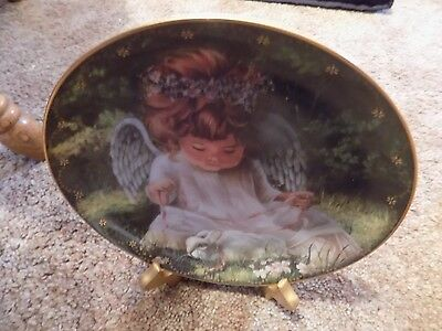 An Angel's Kindness by Donna Brooks Heaven's Little Sweethearts plate Bradford