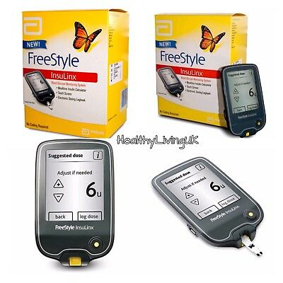 FreeStyle InsuLinx Blood Glucose Meter Monitor System -TOUCH SCREEN - RRP £99.99
