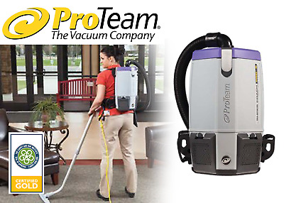ProTeam - Super Coach Pro 6 HEPA, 6 qt. Backpack Vacuum - FREE SHIPPING