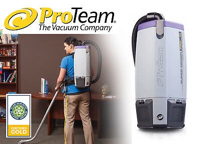 ProTeam - Super Coach Pro 10 HEPA, 10 qt. Backpack Vacuum - FREE SHIPPING