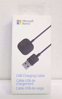 Microsoft 3.3' USB Charging Cable Microsoft Band 2 Watch Black MU6-00001