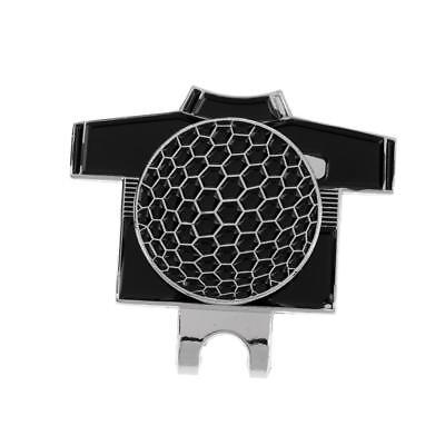 New Black Magnetic Hat Clip with Golf Ball Marker for Golf Hat or Visor