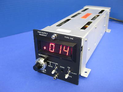 MKS Instruments Type 246 Model 246B Power Supply Readout, Used