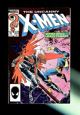 UNCANNY X-MEN #201 (Marvel, 1986)~1st app of baby Cable ~VF/NM 9.0