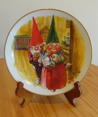 Rien Poortvliet Gift Of Love Holiday Plate Happy Holiday 1133/15,000