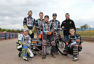 Lakeside Hammers Speedway Team Photograph 2017 6x4 inches