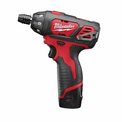 Milwaukee M12 12-Volt Lithium-Ion 1/4 in. Hex Battery Cordless Screwdriver Kit
