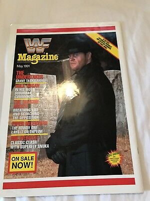 WWF Magazine May 1991