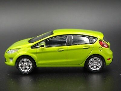 2012 Ford Fiesta Green Rare 1:64 Limited Diecast Collectible Diorama Model Car