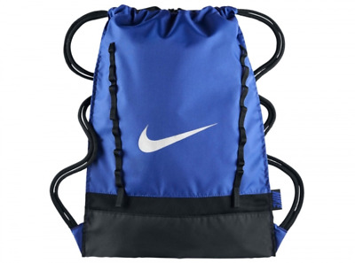 Nike Bag Brasilia Gym Sports Drawstring Training Gymsack Swoosh Shoulder Travel