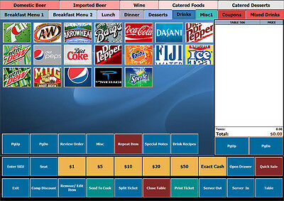 BPA Restaurant POS Quick Service, Fast Food, Yogurt, Bakery, Sandwich, Drive In