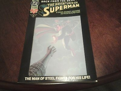 ADVENTURES OF SUPERMAN BACK FROM THE DEAD? #500 DC Comics June 1993 NM vintage