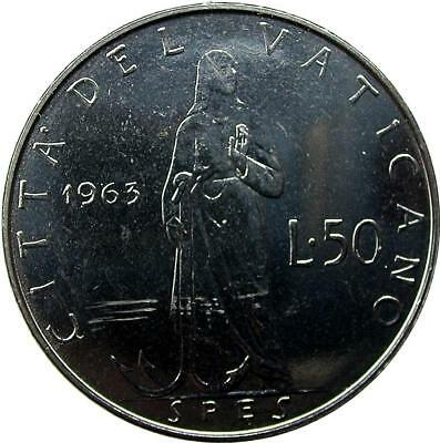 Vatican City - 50 Lire - 1963 - Paul Vi - Unc