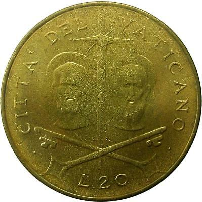 Vatican City - 20 Lire - 1967 - Paul Vi - Unc