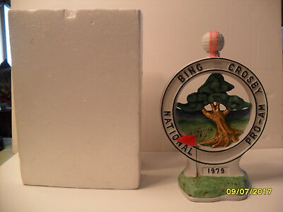 A.S.I. Bing Crosby 39th. 1979 Golf Tournament Decanter