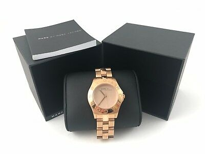 51e7b60d8f3 MARC BY MARC JACOBS Blade Rose Gold-Tone Steel Watch Ladies Watch MBM3127