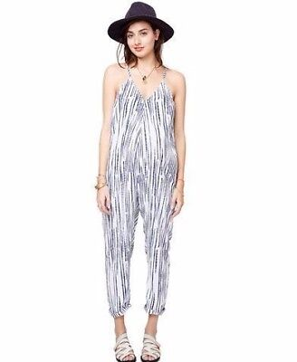 Hatch Collection Maternity Indochine Jumper Jumpsuit Racer Back One Piece