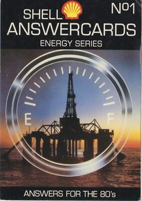 Shell Energy Series Answercards - Oil Platform