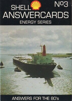Shell Energy Series Answercards - Oil tanker