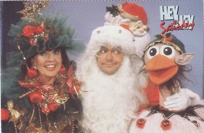 Hey Hey It's Saturday Christmas Special Postcard