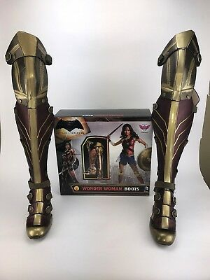 Wonder Woman Boots- Highest Heel Collection - 3-Piece Cosplay Wedge Boots