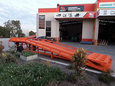 Movable Dock Ramp, Loading Ramp, 8000kgs, Yard Truck Ramp, Call us 02 9625 5666!