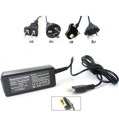 AC Adapter For Lenovo ADLX45NDC3A ADLX45NCC3A Laptop Power Charger Cord 45W New