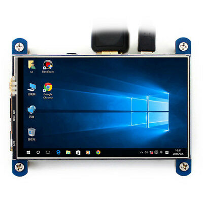 Resistive Touch LCD Display Raspberry Pi IPS Screen 4inch HDMI LCD 800×480