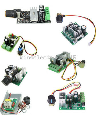 3/10/15/20A PWM 6-28V/10-60V/6-60V/12-40V/6-90V/12V Motor Speed Control Switch K