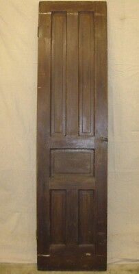 ANTIQUE VICTORIAN 1880s 5 PANEL PANTRY CHIMNEY CUPBOARD CABINET CLOSET DOOR