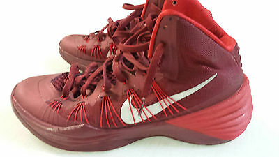 best service 4e1ad 4531c Nike Red Hyperdunk Shoes Sneakers Men s Basketball Size 10 Clean