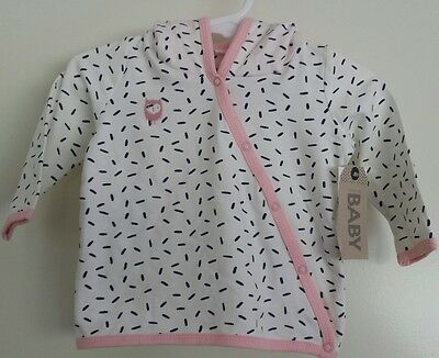Baby Girl Hooded Top -  brand new with tags -  size 00