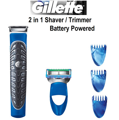 Gillette Body Beard Shaver Hair Trimmer Stand Fusion ProGlide Battery Operated