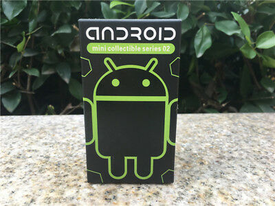 "Android Mini Series 02 Collectible Vinyl Toy Figure 3"" Blind Box New By Google"