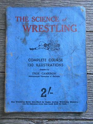 C1930's Science Wrestling wrestle Australia Dick Cameron Chief Little Wolf