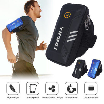 Sports Wrist Arm Band Case Running Jogging Pouch Bag Holder for 5-6inch Phone