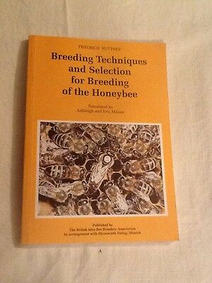 breeding techniques and selection for breeding of the honeybee