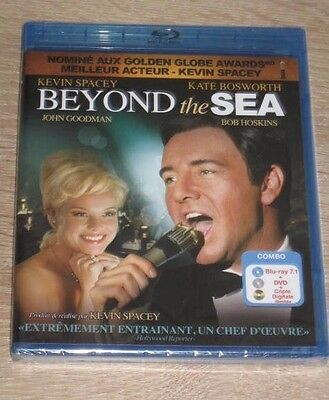 """New Film (Blu-ray + DVD) """"BEYOND THE SEA"""" (Spacey, Blethyn) [NEUF SOUS CELLO!!!]"""