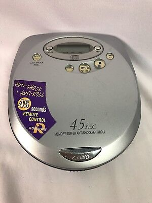 Sanyo CDP-4300CR Discman Personal CD Player