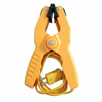 Type K Pipe Clamp Temperature Lead Probe HVAC Pipes Jaw Clip Plumbing Clamp A4J3