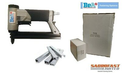 BeA 71/16 401 GREY BODIED 71 TYPE AIR STAPLER WITH 240,000 12MM STAPLES