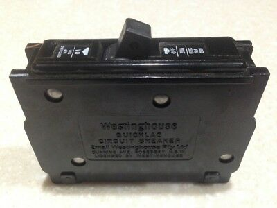Westinghouse Quicklag Circuit Breaker 20A 250V 1pole